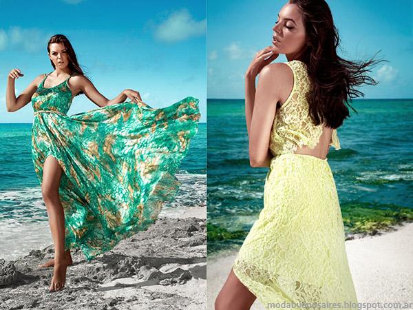Vestidos casuales 2015. Moda verano 2015 Ibroo.