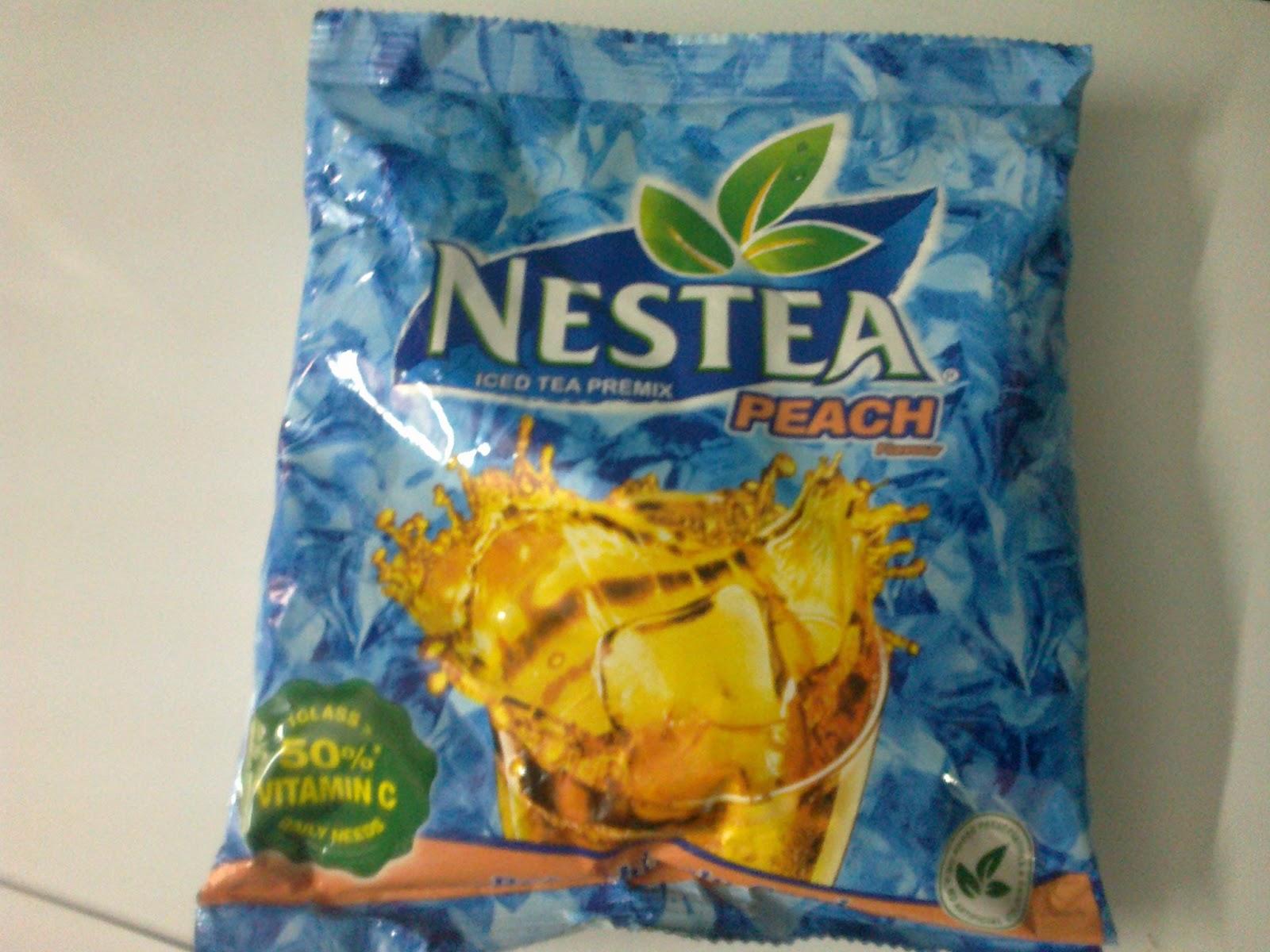 Nestea Iced Tea Premix Peach Flavour Review The Good Lemon