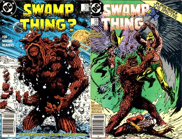 Swamp Thing # 57, 58, 59 60 - Moore, Veitch Totleben