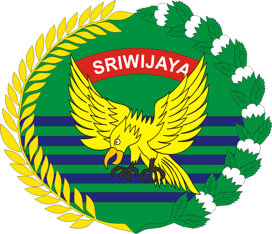 lambang pataka komando daerah militer kodam sriwijaya