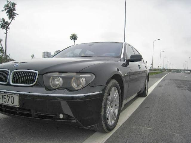 Cho thuê xe BMW 750i VIP tại Hà Nội