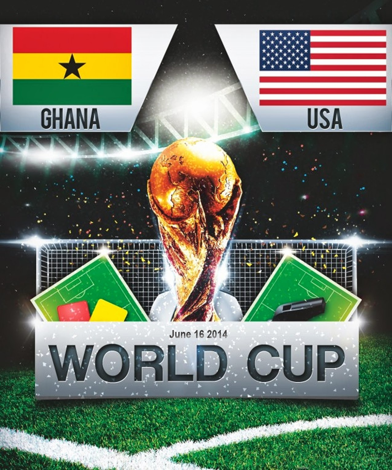 FIFA World Cup 2014 - USA Vs Ghana