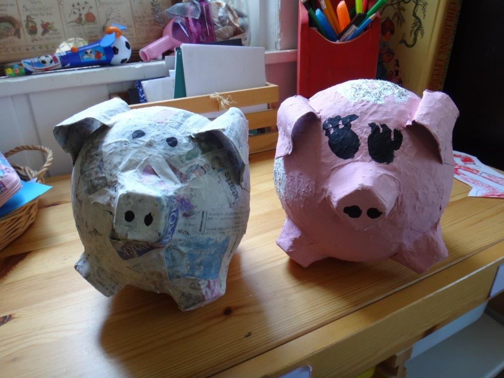Paper mache craft ideas paper crafts for Easy paper mache ideas