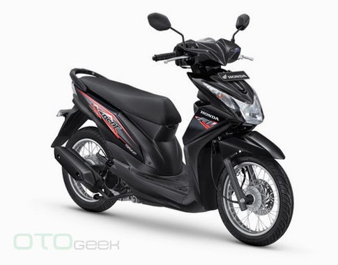 Honda BeAT 110 Fi SW Hitam