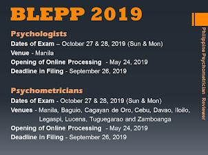 BLEPP 2019