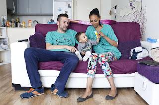 Niños y niñas afectados por la hipoteca