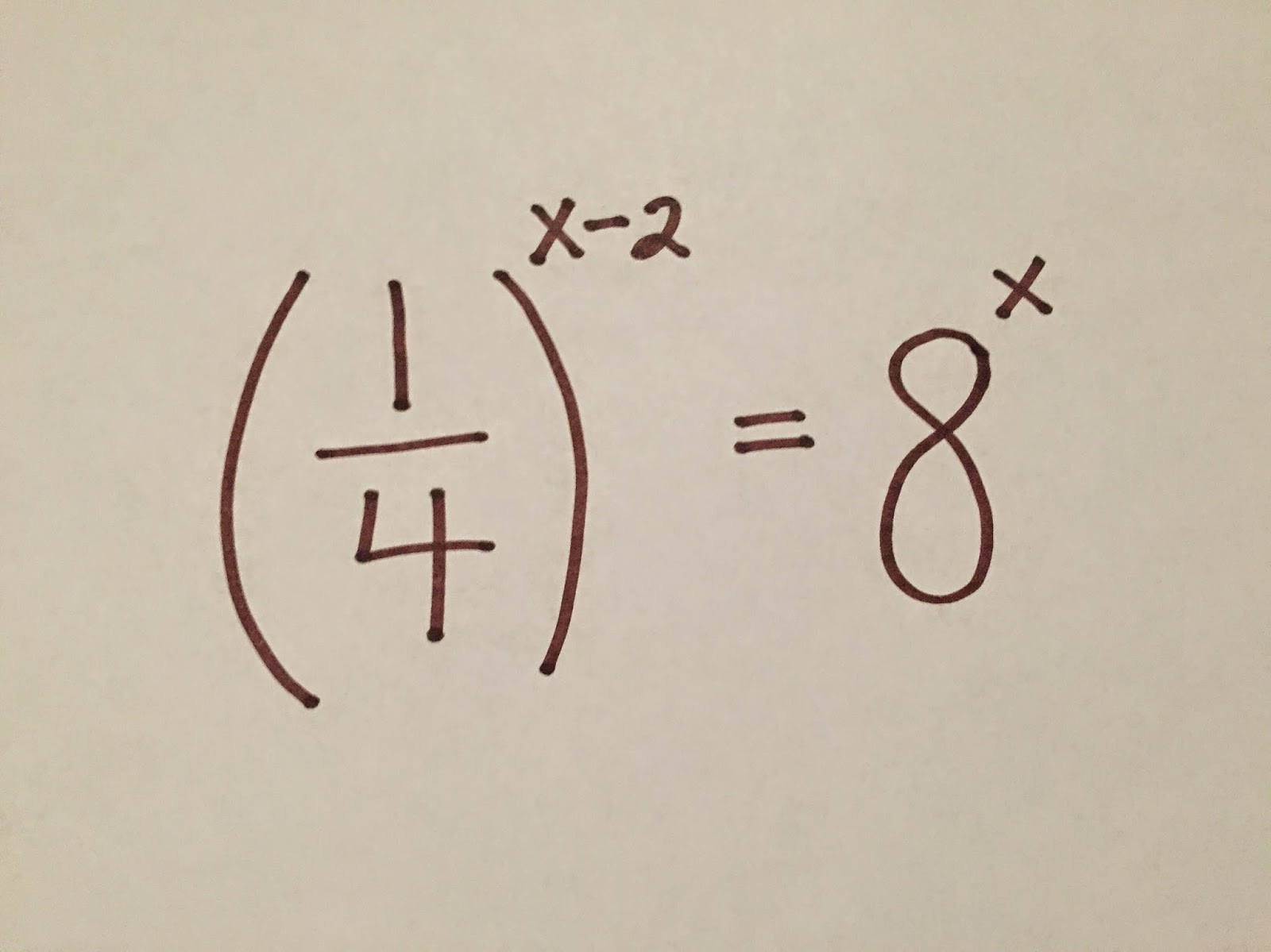 Square Root Of Negative One Teach Math Solving Exponential