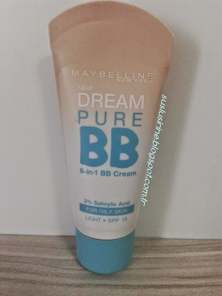 maybelline dream pure bb cream yagli cilt