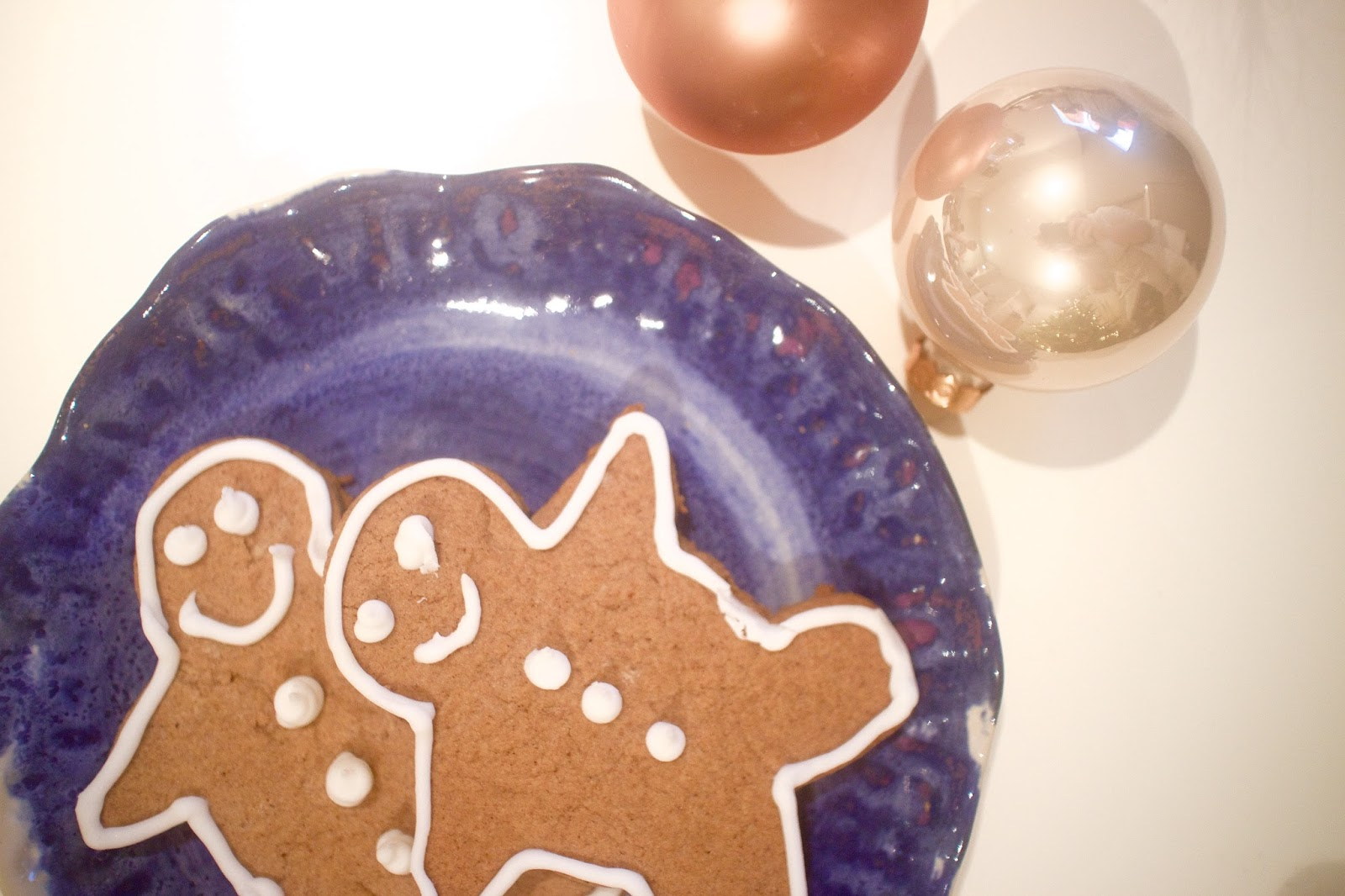 She's So Lucy Healthy Gingerbread Men recipe Christmas