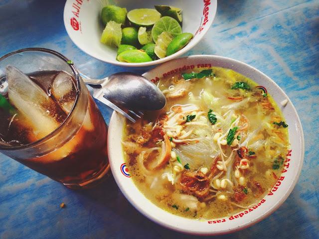 Soto Ayam at Yogyakarta Jalan Cendrawasih