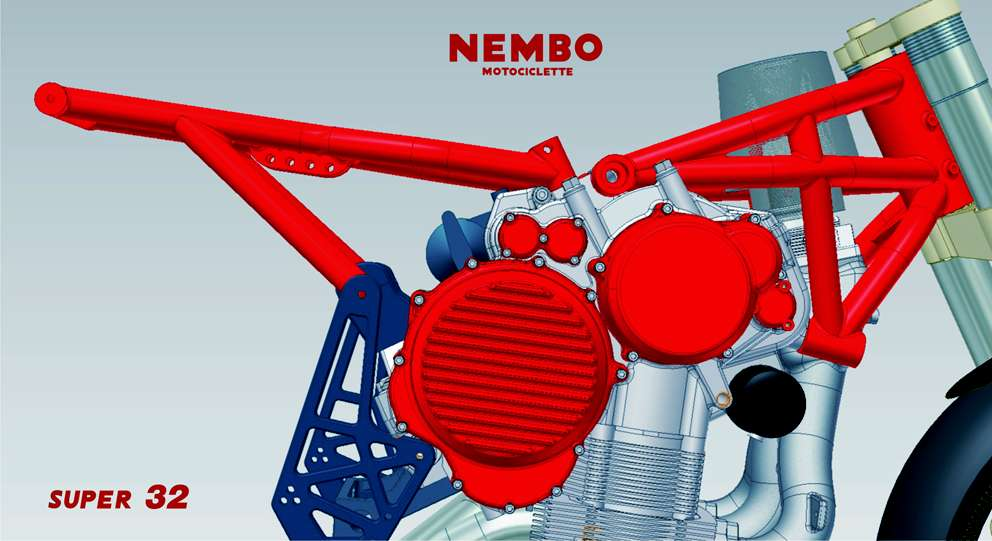Nembo Motorcycle Frame