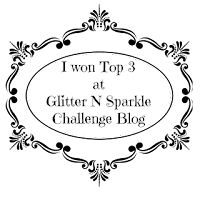 Top 3 at Glitter N Sparkle Challenge #168