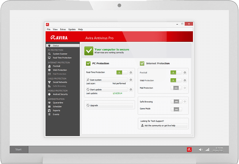 Avira Antivirus Pro 2015 Serial key Full version Free Download