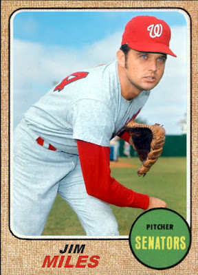 Jim Miles (baseball) Rating The Rookies 1970 Topps Senators Rookie Stars Jim Miles Jan