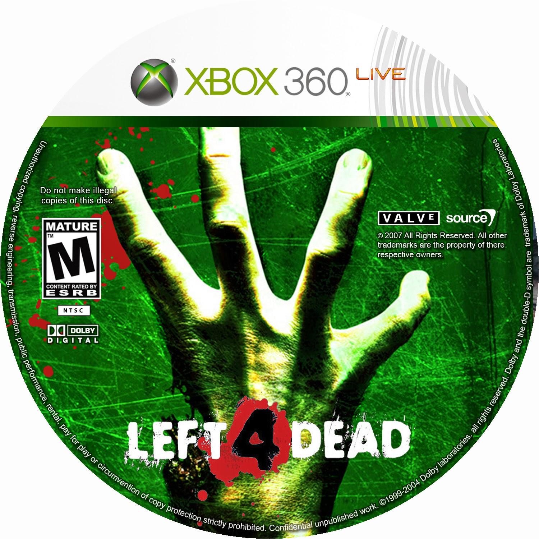 Capa Left 4 Dead XBOX 360