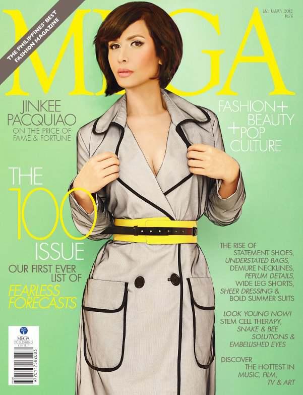 Jinkee Pacquiao Mega Magazine Cover Photoshop?