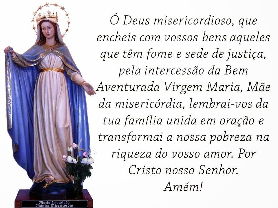 Maria Imaculada Mãe da Misericórdia