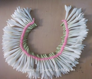 Craft - Traditional flower stringing ideas