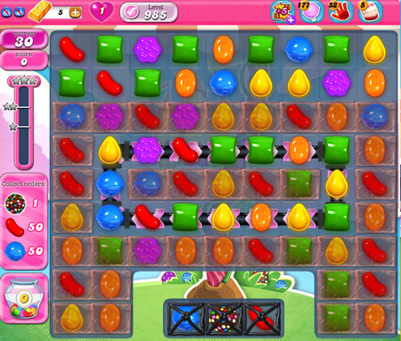 Candy Crush Saga 985