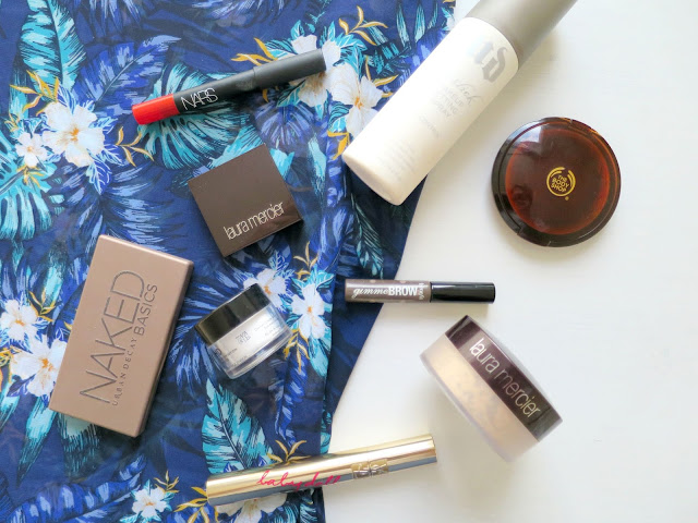 Holiday Beauty Makeup Favourites NARS Urban Decay Laura Mercier Benefit YSL MUFE The Body Shop