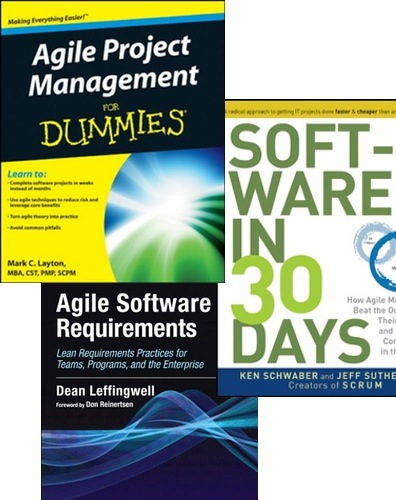 3 Agile Scrum Books You Must Own