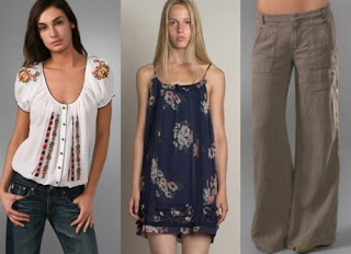 Samples of Comfortable Clothes