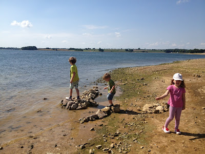 Rutland Water beach