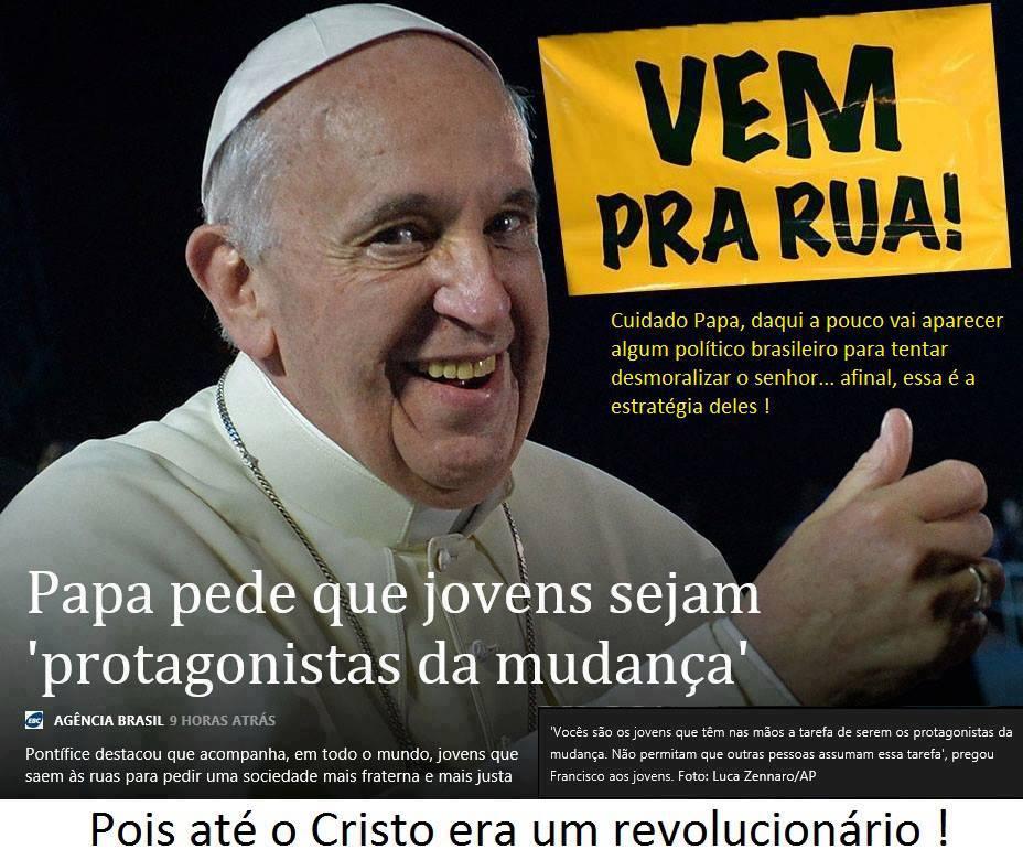 Graça No País Das Maravilhas Frase Do Papa