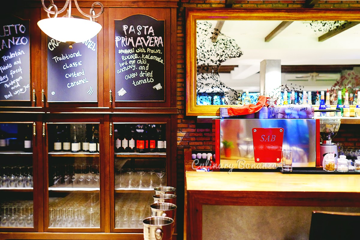 The Bar - Patio Trattoria & Pizzeria