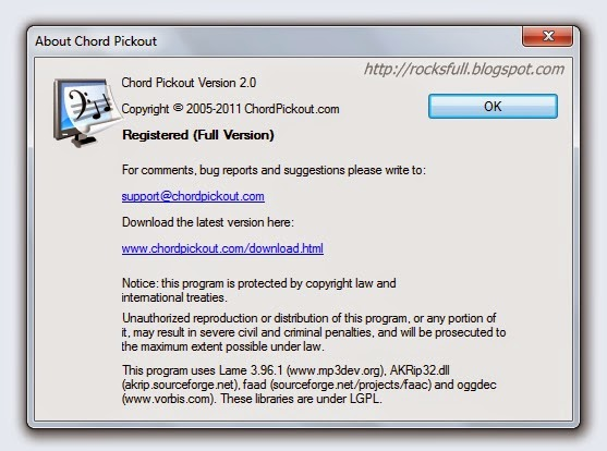 chord pickout 3.0 full version crack