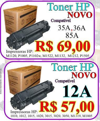 toner impressora hp baratinho