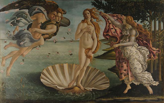 Sandro Botticelli, 1486, Uffizi, Florence