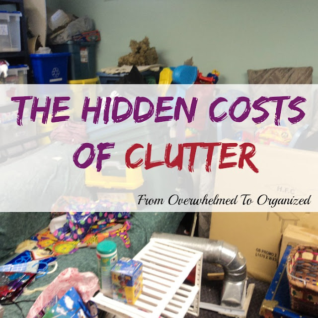 The Hidden Costs of Clutter :: OrganizingMadeFun.com