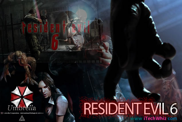 RE6: Resident Evil 6 Game Trailer and Release Date on PS3, Xbox 360