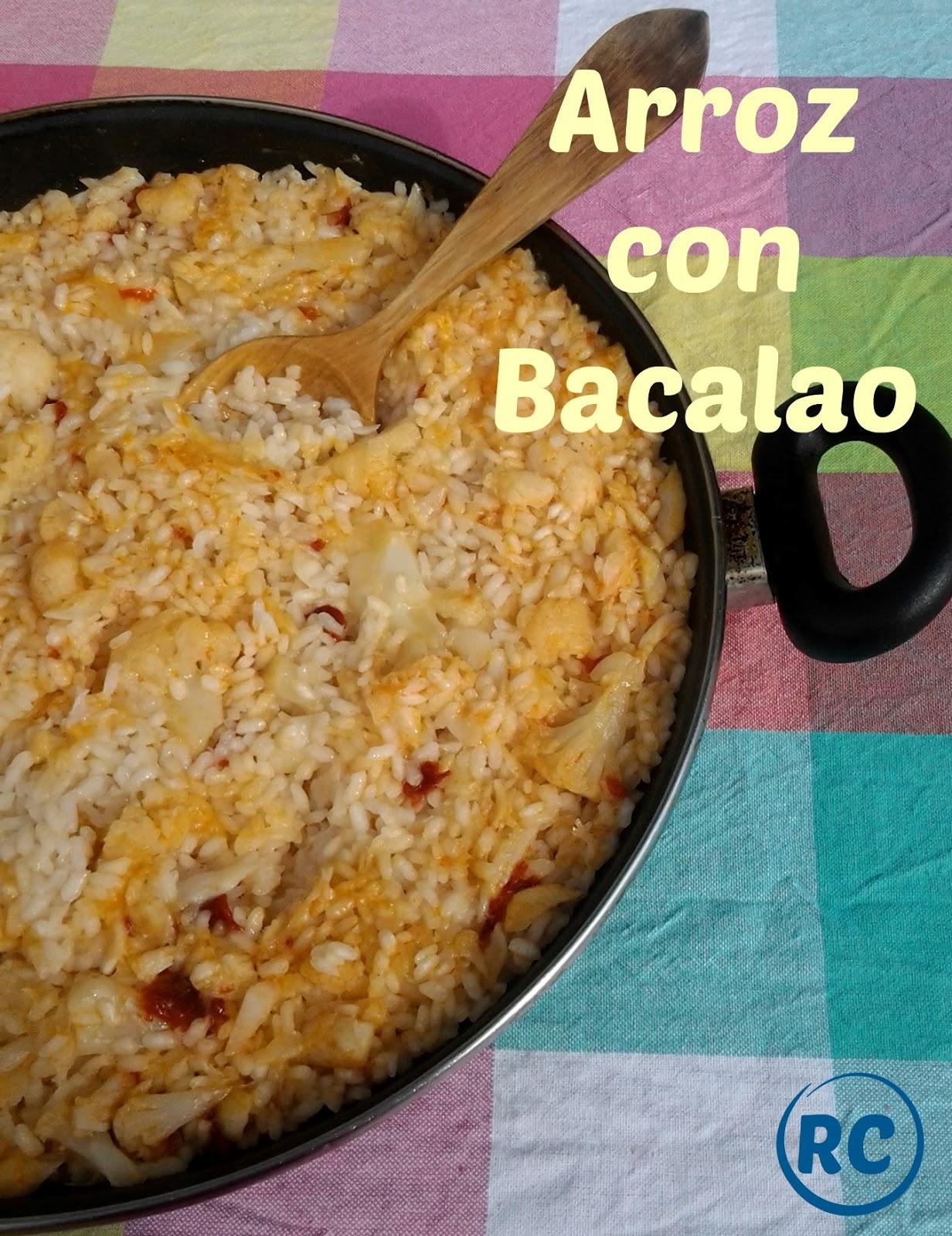 Recursos culinarios arroz con bacalao typical spanish - Arroz con bacalao desmigado ...