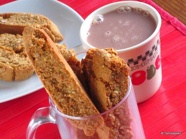 Vegan Almond Biscotti