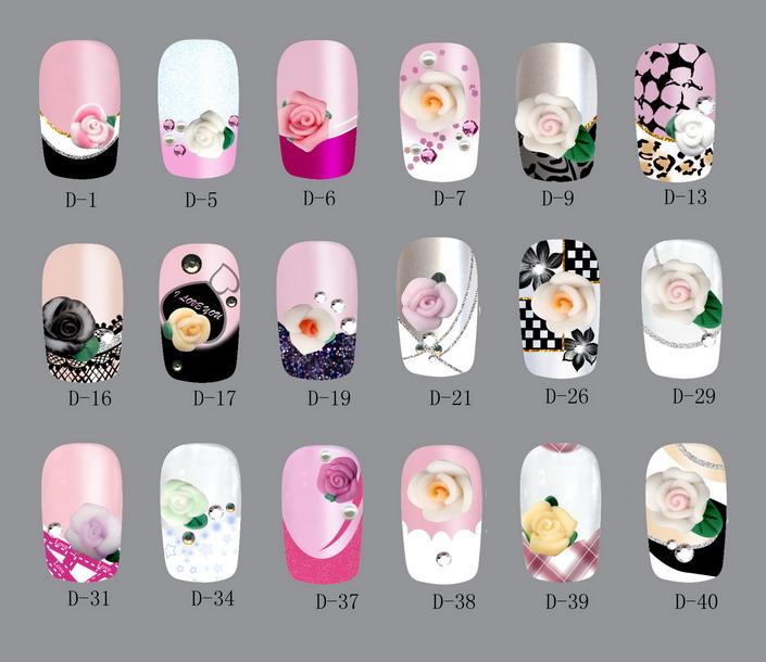 Aimee\'s Picks for the Most Fashionable Nail Art: Acrylic Nail Art ...
