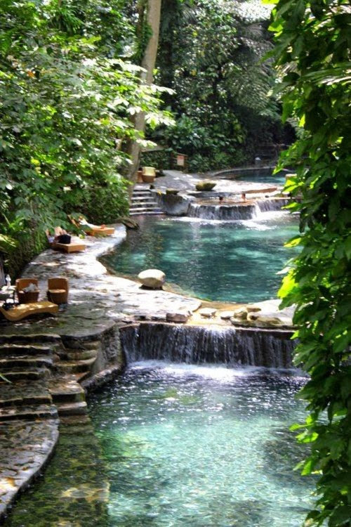 Beautiful natural swimming pool  A1 Pictures