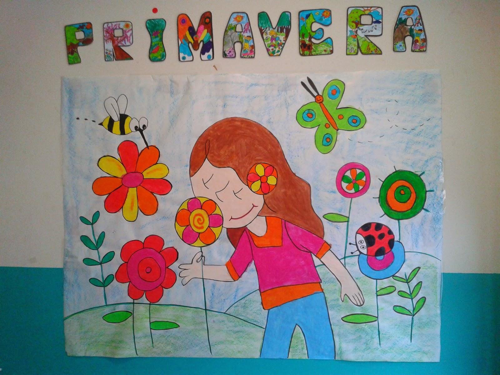 Infantil en ribadesella decoraci n de primavera for Decoracion primavera manualidades