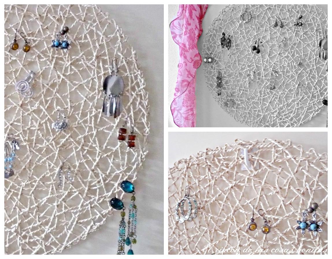 Una idea para organizar tus pendientes el rinc n de las cosas bonitas - Colgador de collares ikea ...