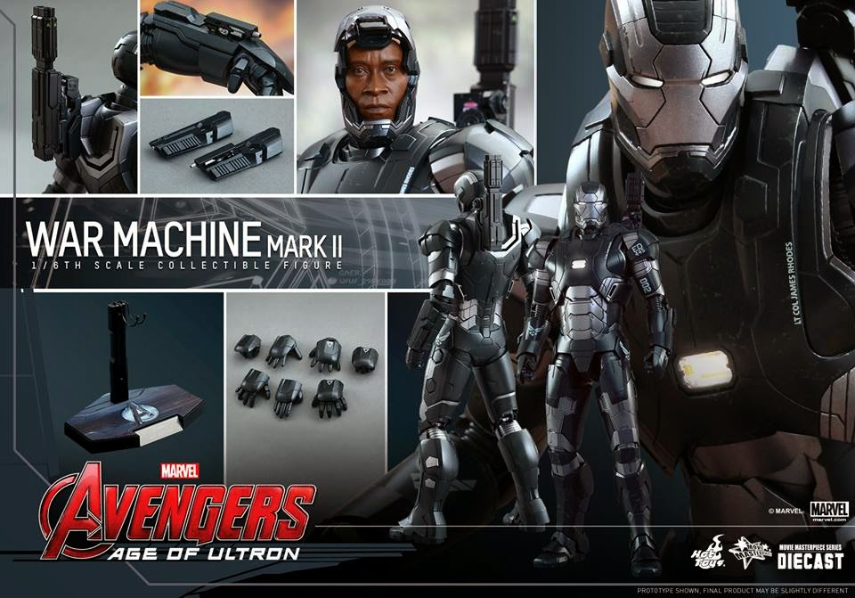 marvel avengers action figure war machine