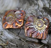 Kristi Bowman Ammonite Copper Components