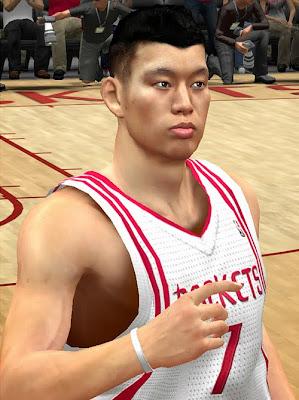 NBA 2K14 Jeremy Lin Cyberface Mod