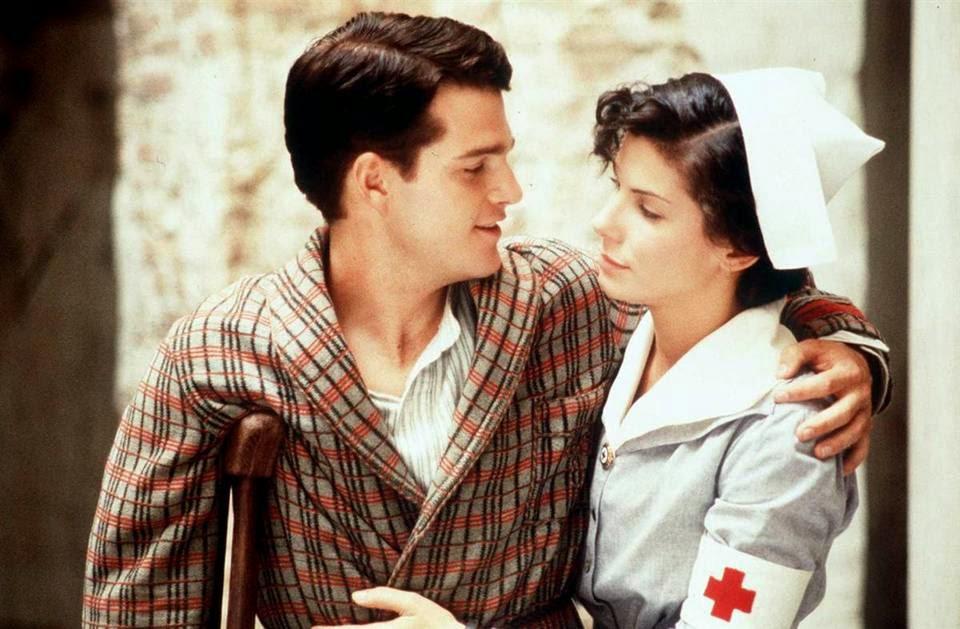 Баллок работает над фильмом «В любви и войне