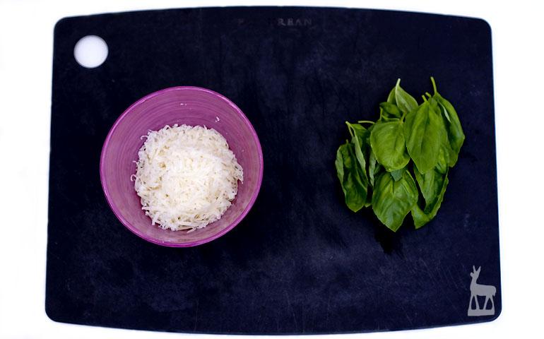Grana Basilikum Pasta