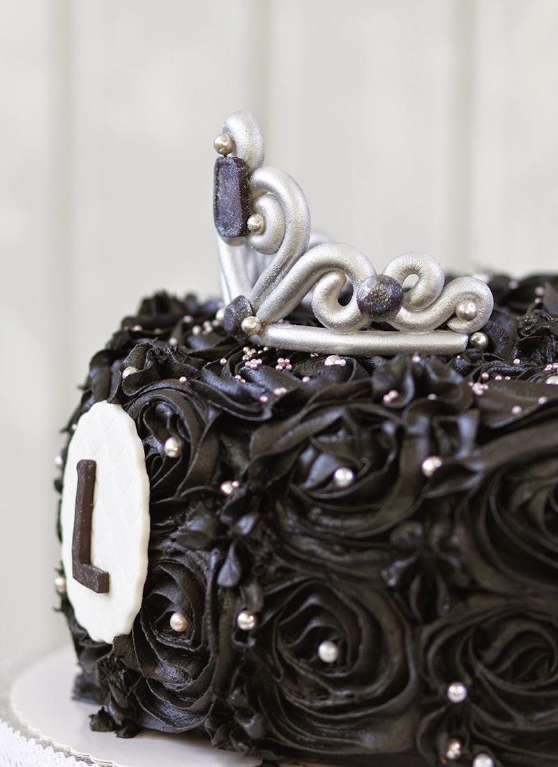 Gâteau noir