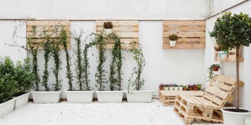 Como decorar el hogar con palets reciclados como decorar for Muebles de jardin con palets reciclados