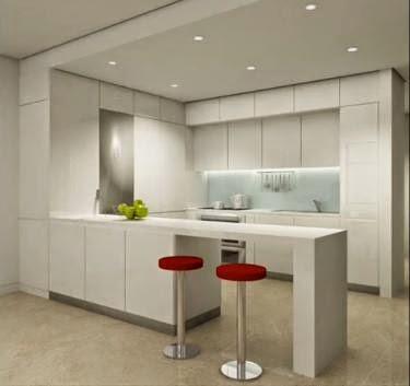 Casa perfecta minimalismo y mantenimiento de nuestro hogar for Cocinas modernas blancas con peninsula
