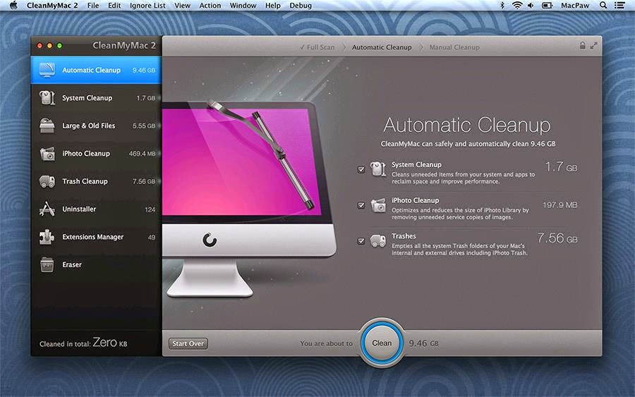 CLEANMYMAC 2.2.3 ACTIVATION CODE