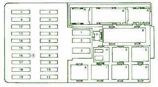 October 2012 mercedes fuse box diagram